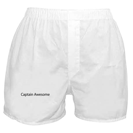 Captain Awesome Boxer Shorts