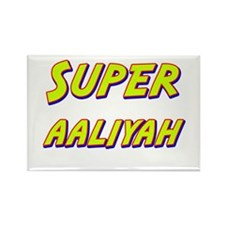 Super aaliyah Rectangle Magnet