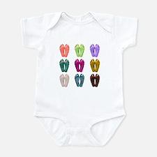 Bare Feet Pop Art (Colors) Infant Bodysuit