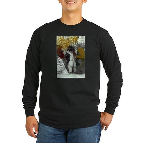 Toilette Long Sleeve Dark T-Shirt