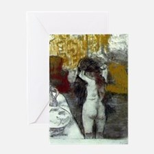 Toilette Greeting Card