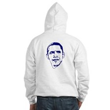Obama Line Portrait Hoodie