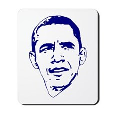 Obama Line Portrait Mousepad