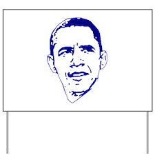 Obama Line Portrait Yard Sign