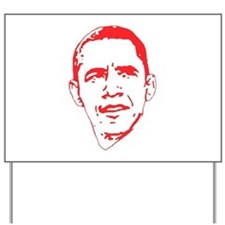 Obama Line Portrait Yard Sign