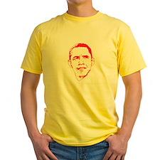 Obama Line Portrait T