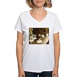 Dance Class Women's V-Neck T-Shirt