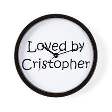 Cute Cristopher Wall Clock