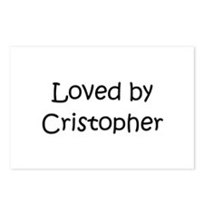 Cute Cristopher Postcards (Package of 8)