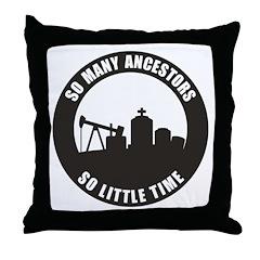 So Many Ancestors Throw Pillow