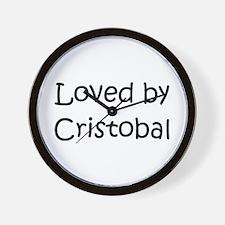 Funny Cristobal Wall Clock