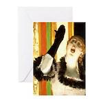 Singer Greeting Cards (Pk of 20)
