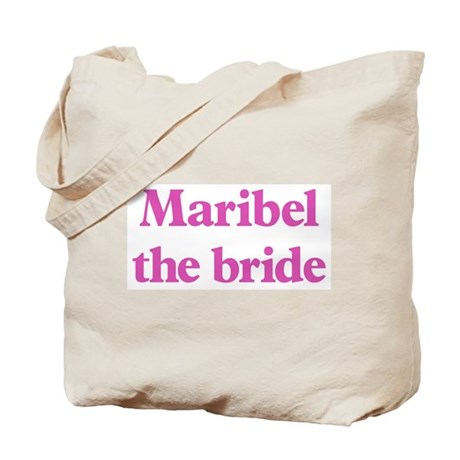 Maribel the bride Tote Bag