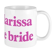 Marissa the bride Small Mugs