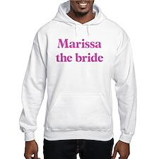 Marissa the bride Hoodie Sweatshirt