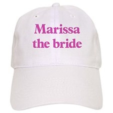 Marissa the bride Baseball Cap