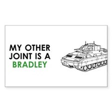 Bradley Vehicle Rectangle Decal