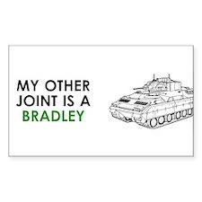 Bradley Vehicle Rectangle Decal