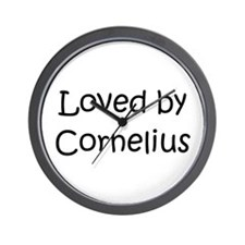 Cool Cornelius Wall Clock