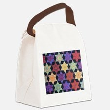 JEWISH STAR OF DAVID Canvas Lunch Bag