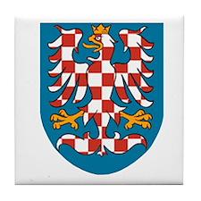 Moravia Coat of Arms Tile Coaster