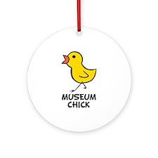 Chick Ornament (Round)