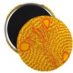 "YELLOW MAJESTIC 2.25"" Magnet (100 pack)"