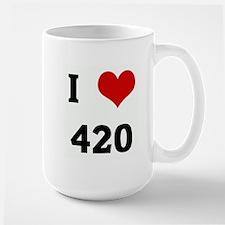 I Love 420 Mugs