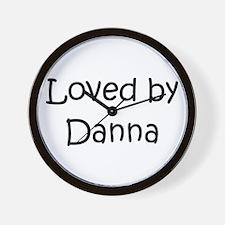 Unique Danna Wall Clock