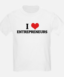 I Love Entrepreneurs Kids T-Shirt