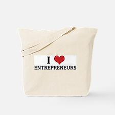 I Love Entrepreneurs Tote Bag