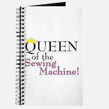 Cute Knitting queen Journal