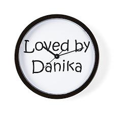 Cute Danika Wall Clock