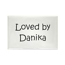 Cute Danika Rectangle Magnet
