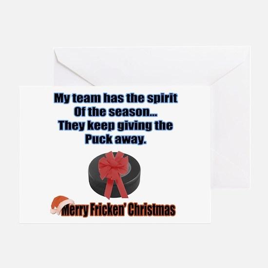 Spirit Of The Season Greeting Card
