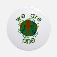 We are one Ornament (Round)
