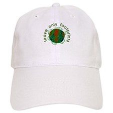 Leave Only Footprints Baseball Cap