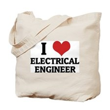 I Love Electrical Engineer Tote Bag