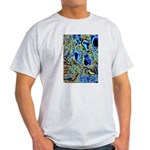 Crystal Art Ash Grey T-Shirt