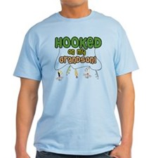 HOOKED ON MY GRANDSON T-Shirt