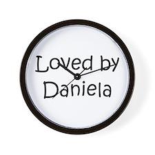 Funny Daniela Wall Clock