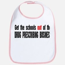 No More Drugs Bib