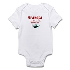 Grandpa - Fish fear him Onesie