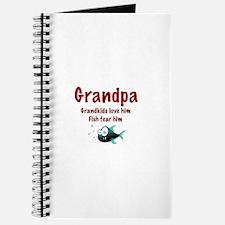 Grandpa - Fish fear him Journal