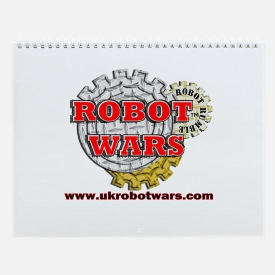 Robot Wars Wall Calendar