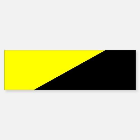 Anarcho-Capitalist Flag Bumper Bumper Bumper Sticker