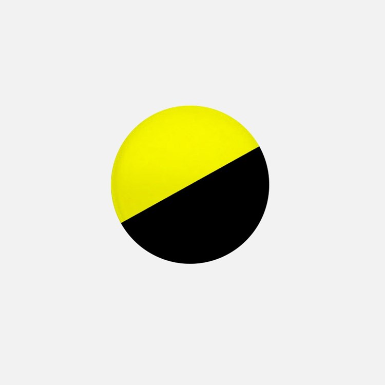 Anarcho-Capitalist Flag Mini Button