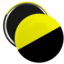 """Anarcho-Capitalist Flag 2.25"""" Magnet (100 pack)"""