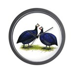 Royal Purple Guineas Wall Clock