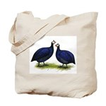 Royal Purple Guineas Tote Bag